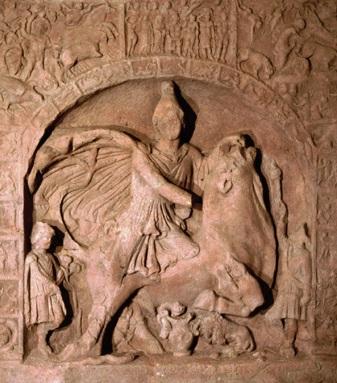 Mithrasrelief aus Osterburken